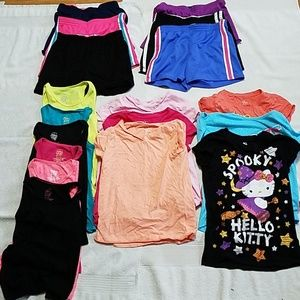 Other - Bundle of 18 Shorts Shirts Tanks Size 7/8 7Bundle1